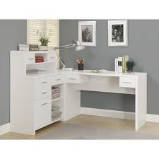 l shaped home office desk. simple shaped home design  monarch reclaimed look l shaped office desk desks at  hayneedle throughout in