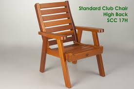 patio furniture chairs. Standard Club Chair - High Back Patio Furniture Chairs W