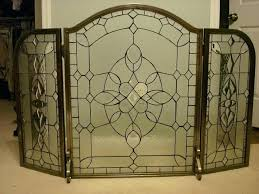 stained glass fireplace screen top leaded glass fireplace screens fold pewter for screen lead 0 fireplace screen glass stained glass decorative fire screens