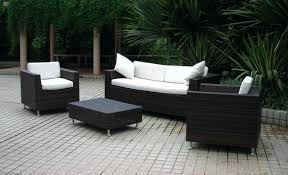 black patio furniture covers. Outdoor Resin Wicker Furniture China Rattan Within Black Patio With Blue Cushions And . Table Covers