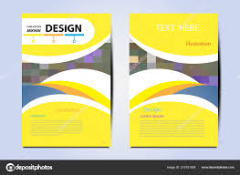 Modern Magazine Layout Template Flyer Cover Business