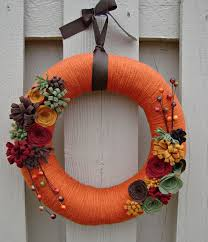 wreaths for front doors67 Cute And Inviting Fall Front Door Dcor Ideas  DigsDigs