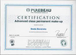 permanent makup advanced cl certification permanent makeup artist certification