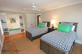 white ceiling fan in bedroom. tropical kids bedroom with 52\ white ceiling fan in c