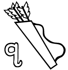 Check out our coloring pages selection for the very best in unique or custom, handmade pieces from our раскраски shops. Quiver For Letter Q Letter Q Coloring Page Bulk Color
