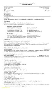 Resume Tax Accountant Beautiful Resume For Accountant Job New Cv