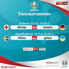 อังกฤษพบเยอรมัน คู่เดือดรอบ16ทีมยูโร2020 ทรูสานต่อความมัน