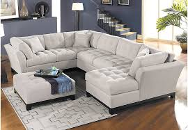 cindy crawford sectional reviews sofa furniture quality sofas at rooms to go leather sleeper