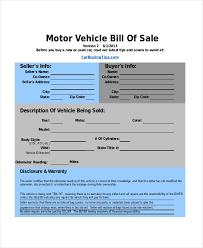 Bill Of Sale Of Car Sample Bill Of Sale Car Tirevi Fontanacountryinn Com