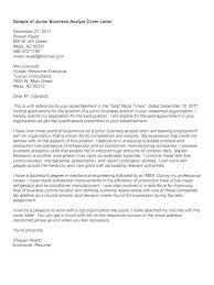 Cover Letter Proposal Sample Cover Letter Proposal Cover Letter Of