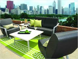 elegant fred meyer patio furniture with black fabric upholstered chairs and white square coffee table