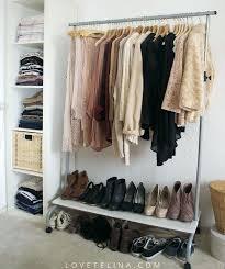 clothing wardrobe storage room with no closet stylish clothing storage ideas for