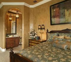 gold bedroom paint a warm and elegant master bedroom with gold painted walls and green and