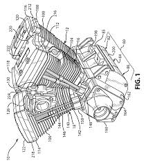 Amazing twin engine diagram contemporary electrical harley patent drawing systematic