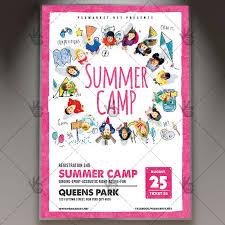 Summer Camp 2017 Premium Flyer Psd Template Psdmarket