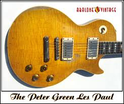 the peter green mod once again peter green les paul