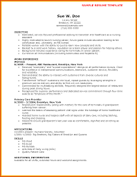 Sample Cna Resume Moa Format New Nursing Assistant Template Free Of