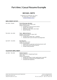 Summer Job Resume Sample Example For Of College Student Philippines