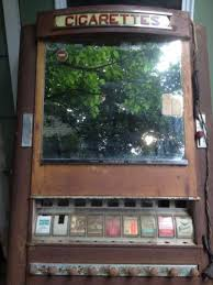 Ebay Cigarette Vending Machine Enchanting Vintage DuGrenier Art Deco Cigarette Vending Machine Pinterest