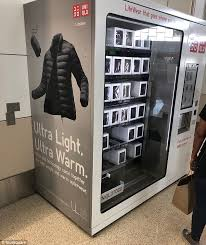 Vending Machines San Francisco Gorgeous San Francisco Airport Vending Machine Selling Vests Racks Up 4848