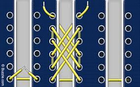 Shoelace Patterns Custom Shoelace Styles