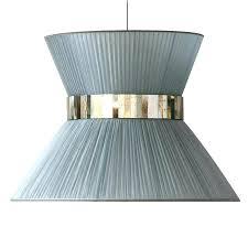 Lamp Shades Tiffany Hanging Lamp Shades In Silver Silk And
