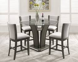 beautiful brayden studio kangas 5 piece round counter height dining set on astounding architecture and home inspirations sophisticated slater mill pine