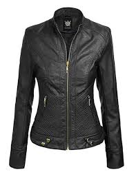 Lock And Love Ll Womens Quilted Biker Ja