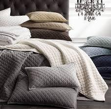 Best 25+ Velvet quilt ideas on Pinterest | Duvet, Duvet ... & washed velvet diamond quilted coverlet & sham- these look so soft! Adamdwight.com
