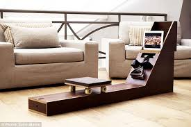 furniture that transforms. A Design Of Rower That Doubles Up As Side Table Could Mean The Aerobics Machine Furniture Transforms