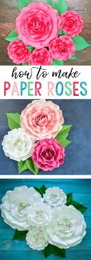How To Make Rose Flower With Tissue Paper Well Qualified Advices How To Make Paper Rose Flower Video