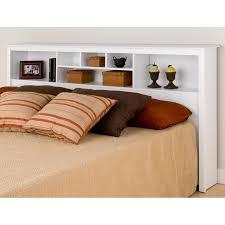 Monterey Bookcase Headboard by Prepac | Storage Headboards, Beds