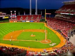 Cincinnati Reds Seating Chart Great American Ball Park Section Sro Home Of Cincinnati Reds