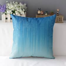 Light Blue Decorative Throw Pillows