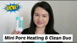 <b>Laneige Mini Pore Heating</b> & Clean Duo Review + Demo | Tracey ...