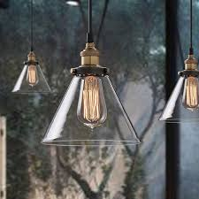 industrial loft lighting. Vintage Pendant Light Industrial Loft Glass Lamp Shade For Kitchen Fixture Table Ceiling Hanging 3 Rustic Lighting N