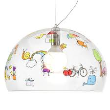 kids pendant lighting. KARTELL KIDS Pendant Lamp FL/Y Fly For Childrens Kids Lighting H