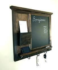 wooden letter organizer wall mounted mail holder wall mounted letter organizer wall mail organizer chalkboard mail
