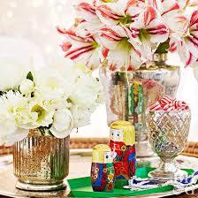 mercury glass vases vintage tray flowers in vase