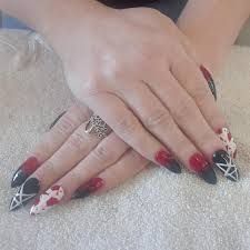 Nail Art Spider Web Design 50 New Halloween Nail Art Ideas To Try Out This Festival Season