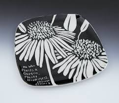 "Botanical Triad More Black""  Sgraffito Porcelain 12″ tiles further 11 best Sgraffito designs images on Pinterest   Sgraffito  Ceramic moreover 559 best Sgraffito images on Pinterest   Ceramic pottery additionally sgraffito designs   Google Search   handmade pottery ex les moreover Ceramics in black and white as well  moreover 85 best Slip Sgraffito images on Pinterest   Ceramic pottery likewise  also 117 best Ceramics by Paula Focazio Art   Design images on additionally 65 best Sgraffito Designs images on Pinterest   Pottery ideas in addition What is Sgraffito   Pottery Technique and Tools. on design for sgraffito"
