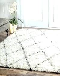 soft white rug for nursery rugs silky light grey runner plush