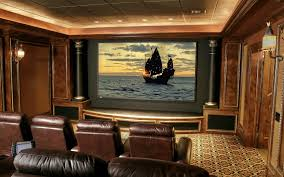 home theater art. basement home theater plans built in wooden shelves movie poster wall art nice lamp small minimalist room design exposed stone a