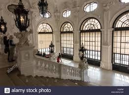 Belvedere Interior Design Upper Belvedere Palace Interior Vienna Stock Photo