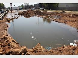 WATCH: Water nightmare on Isando Road as hole stays open - Kempton Express