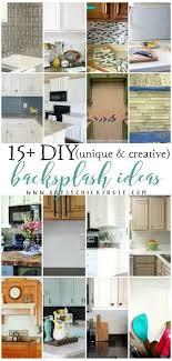 15 unique creative diy backsplash ideas artsyrule