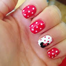 Gorgeous Metallic Nail Art Designs That Will Shimmer and Shine You Up -  Stylendesigns | Minnie mouse nail art, Disney nail designs, Kids nail  designs