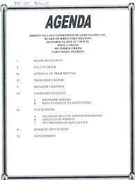 Pta Templates 9 Agenda For Pta Meeting Template Reinadela Selva