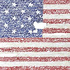 american flag word art american flag national anthem word art print phillywordart
