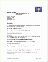 Simple Resume Template Resume Template Word Basic Therpgmovie 23